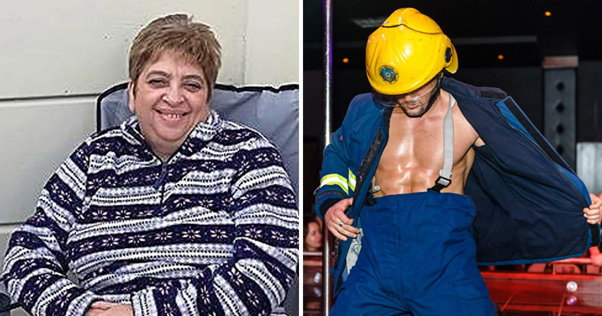 Stripper's trouser flick 'blinded gran' who is now suing for £150,000