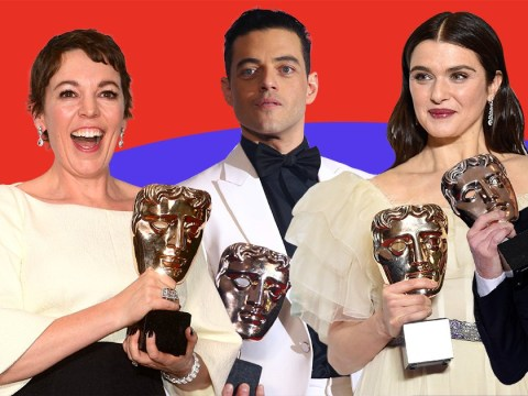 Rami Malek, Olivia Colman and The Favourite bag top awards at Baftas 2019