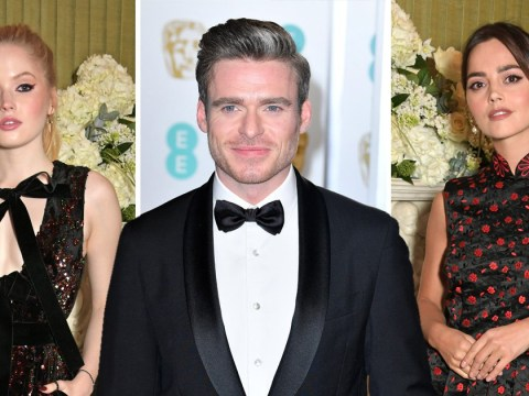 Richard Madden parties at Baftas after show with ex-girlfriends Jenna Coleman and Ellie Bamber