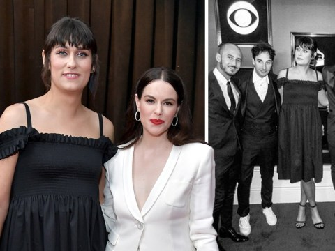 Teddy Geiger talks trans visibility as she hits Grammys with fiancee Emily Hampshire