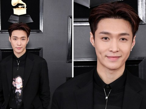 EXO's Lay works the Grammys red carpet as K-pop stars dominate awards show