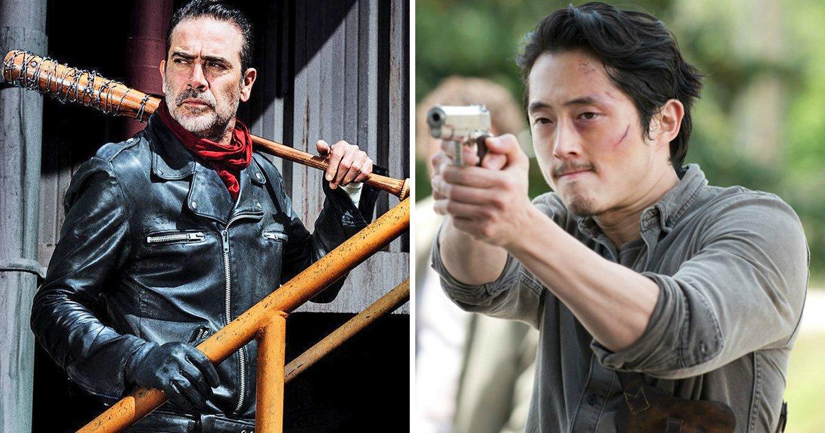 Callback to Glenn's death in The Walking Dead
