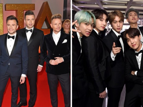 Westlife want to combine boyband forces and collaborate with BTS