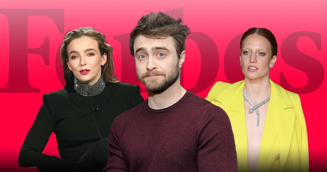 Jodie Comer, Daniel Radcliffe and Jess Glynne lead string of A-listers to make Forbes' 30 under 30 list