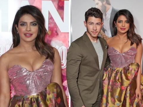 Priyanka Chopra shines in gold as she attends Isn't It Romantic premiere with husband Nick Jonas