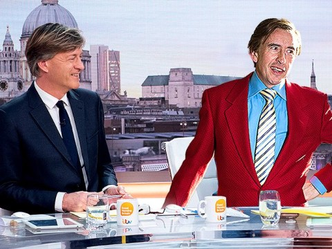 Richard Madeley goes Alan Partridge on live TV again and tells naked Brexit protester 'we didn't know where to put your mic'