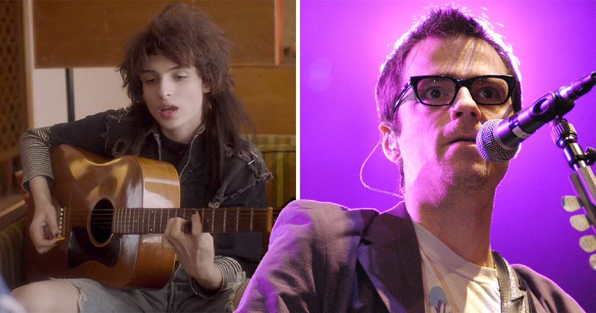 Finn Wolfhard becomes young Rivers Cuomo in Weezer's Take on Me music video