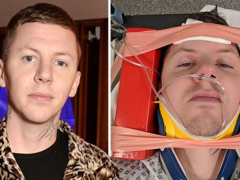 Professor Green cancels tour after fracturing neck during a seizure: 'I was extremely lucky'
