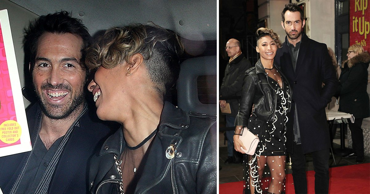 Strictly's Karen Clifton cosies up to boyfriend David Webb at Rip It Up launch night as couple go public