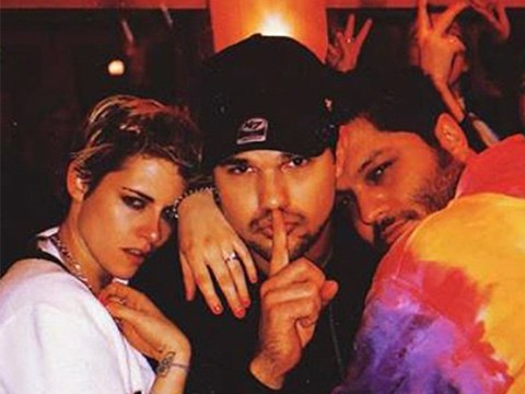 Kristen Stewart parties with Twilight co-star Taylor Lautner at surprise birthday bash