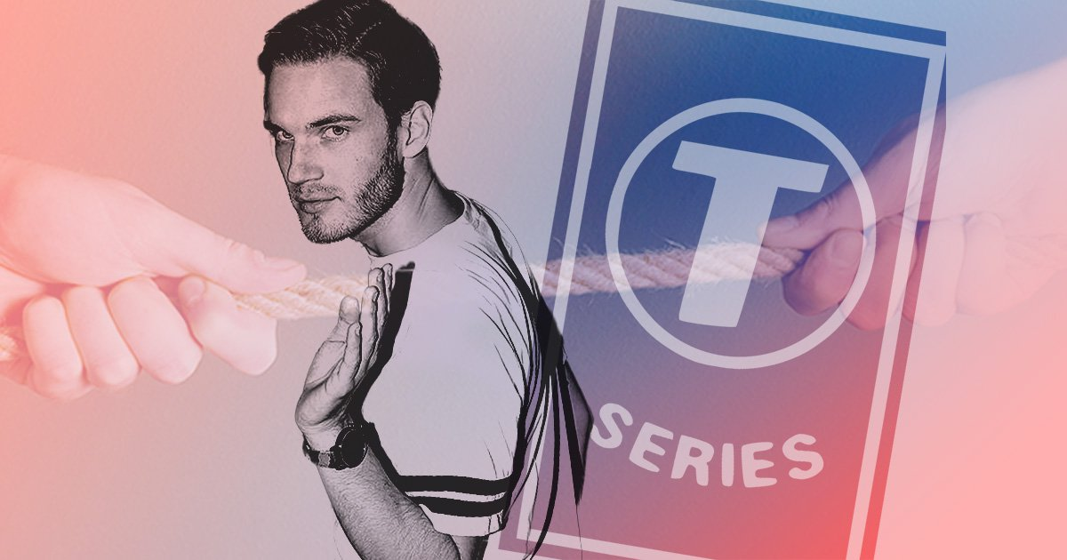 PewDiePie labels Indian celebrities cheering on T-Series 'pathetic' as rival channel overtakes him for hot minute