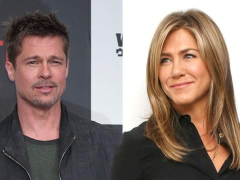 Brad Pitt put on spot over Jennifer Aniston reunion