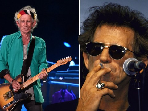 Keith Richards says quitting heroin is easier than giving up smoking as Rolling Stones rocker cleans up lifestyle