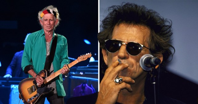 Keith Richards says quitting heroin is easier than giving up