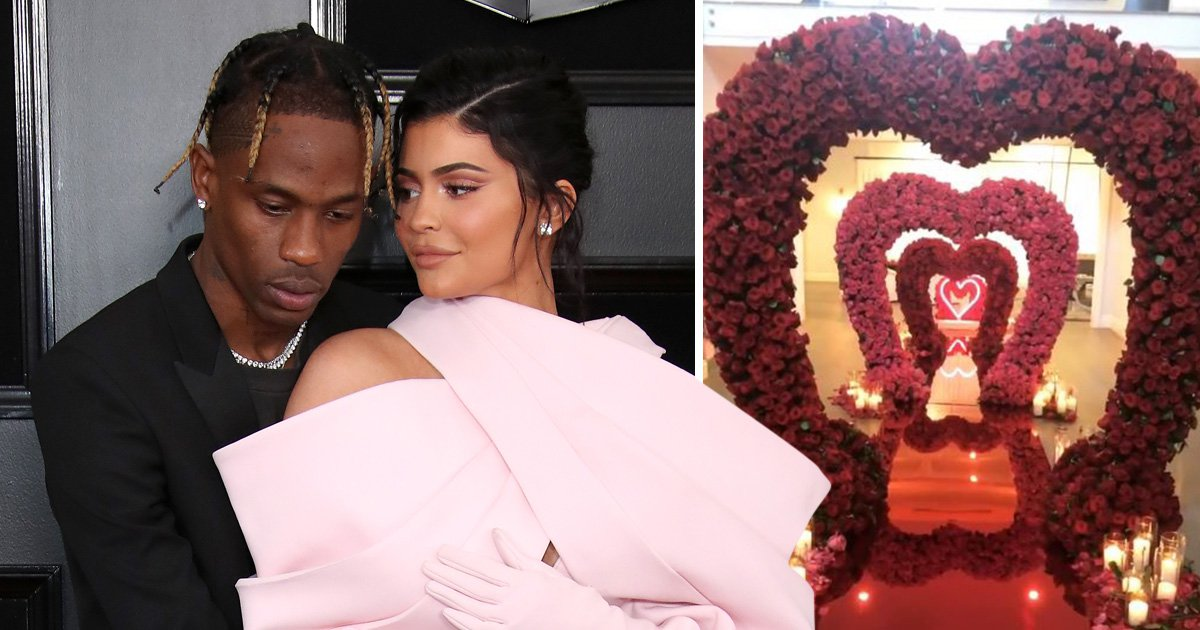 Kylie Jenner fans can't handle Travis Scott's extravagant Valentine's Day surprise: 'I can't even get a text'