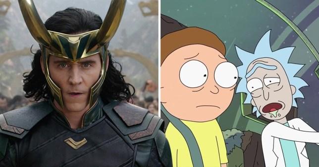 Loki and Rick and Morty
