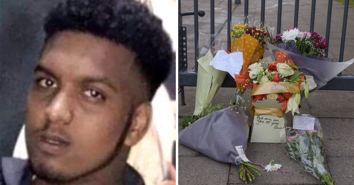 Boy, 16, stabbed to death outside college is honoured by friends and family