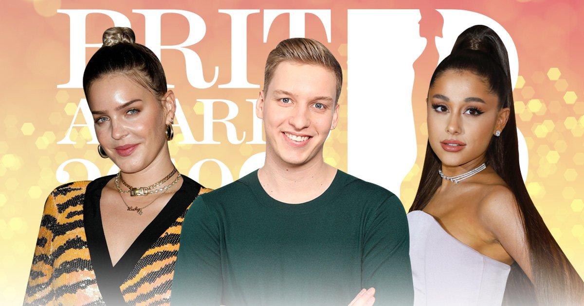 Anne Marie, George Ezra and Ariana Grande