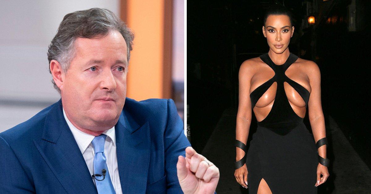 Piers Morgan comes for Kim Kardashian's dress sense after she sports vintage Mugler look