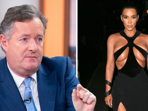 Piers Morgan comes for Kim Kardashian's dress sense after she sports vintage Mugler look