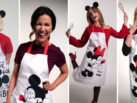 Susanna Reid and Joanna Lumley among celebs strapping on Disney aprons for Comic Relief 2019
