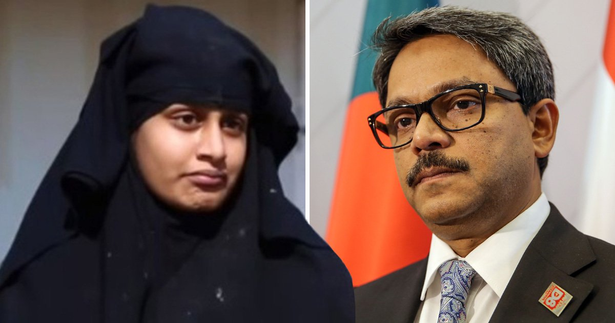 Bangladesh shuts door on Isis bride Shamima Begum and her baby