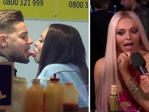Jack Whitehall brings up Jesy Nelson's very brief romance with Love Island's Chris Hughes and things got pretty awkward