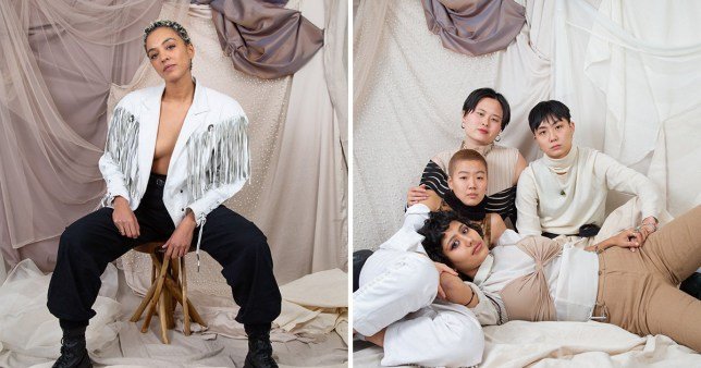 Pur-suit is a 54 card deck with portraits of queer womxn, trans, non-binary, and gender nonconforming people