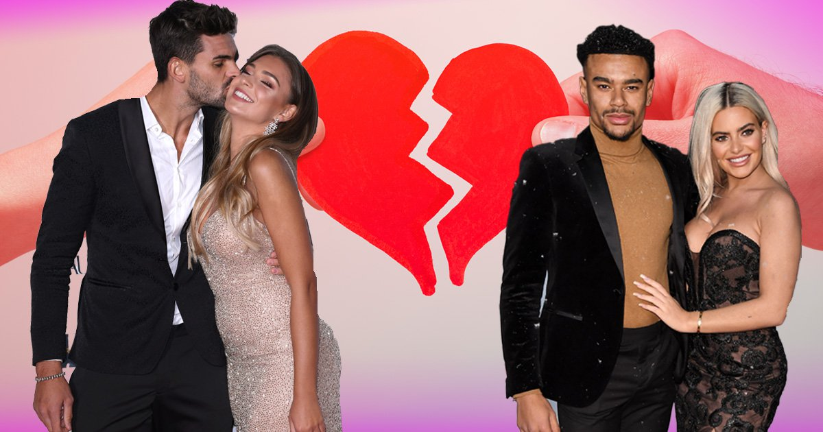 Love Island couples have split up simply because it's 'break-up season'