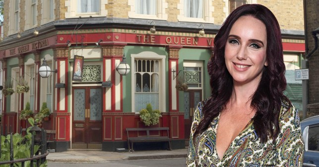 Kate Oates runs EastEnders
