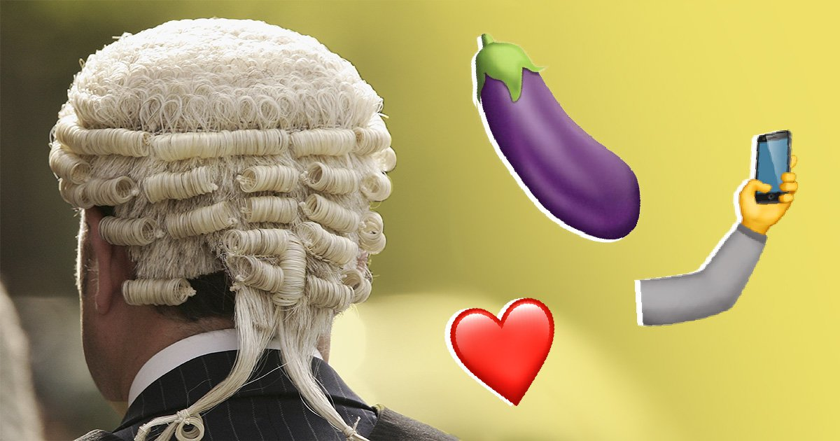 Judges need to know what the aubergine emoji really means