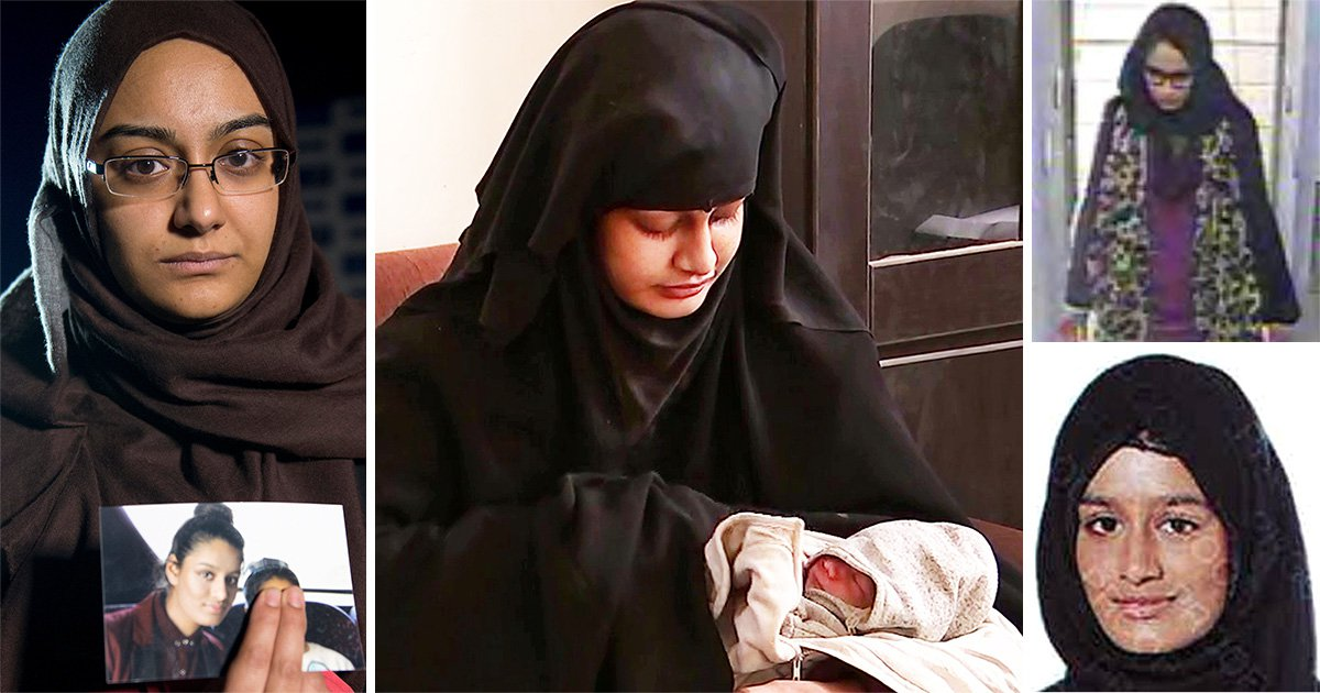 Isis bride Shamima Begum's sister begs govt to let newborn son into UK