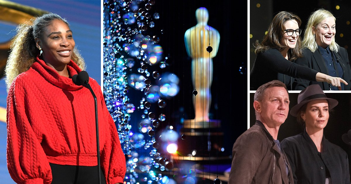 Oscar rehearsals 2019: The Hollywood stars dress down before the big day and Serena Williams' daughter steals the show