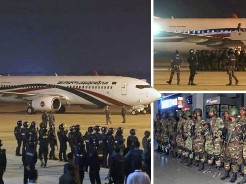 Armed Hijacker shot dead after forcing passenger plane to make emergency landing