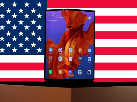 Huawei confirms £2,000 folding 'Mate X' phone will not be sold in the USA