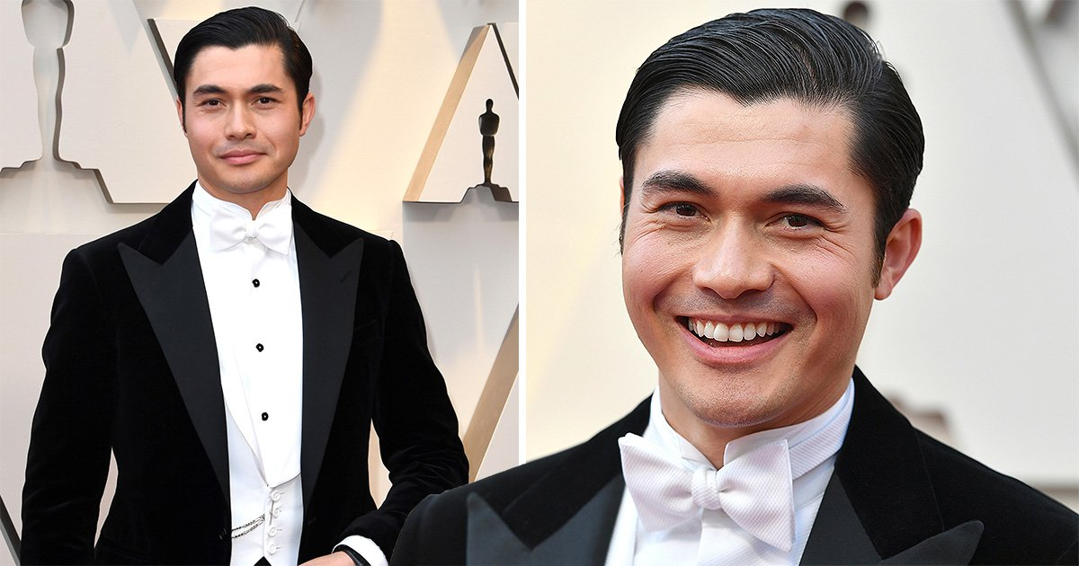 Henry Golding makes a play for James Bond on Oscars 2019 red carpet