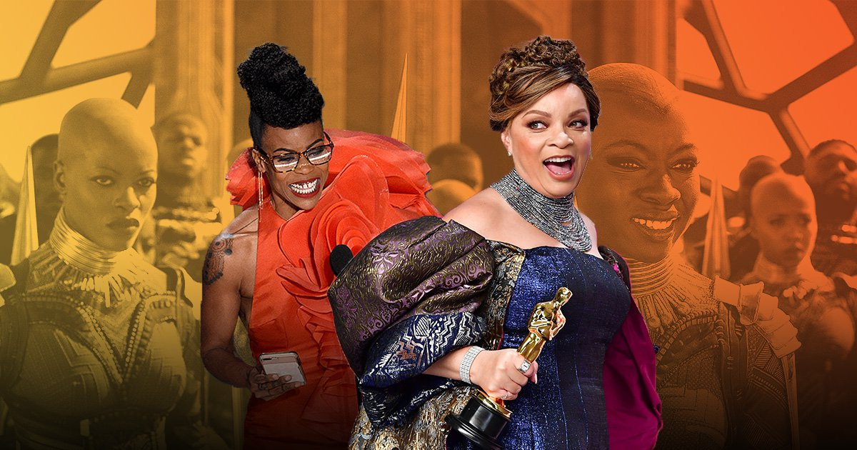 Oscars history made as Marvel win first awards and African American women dominate