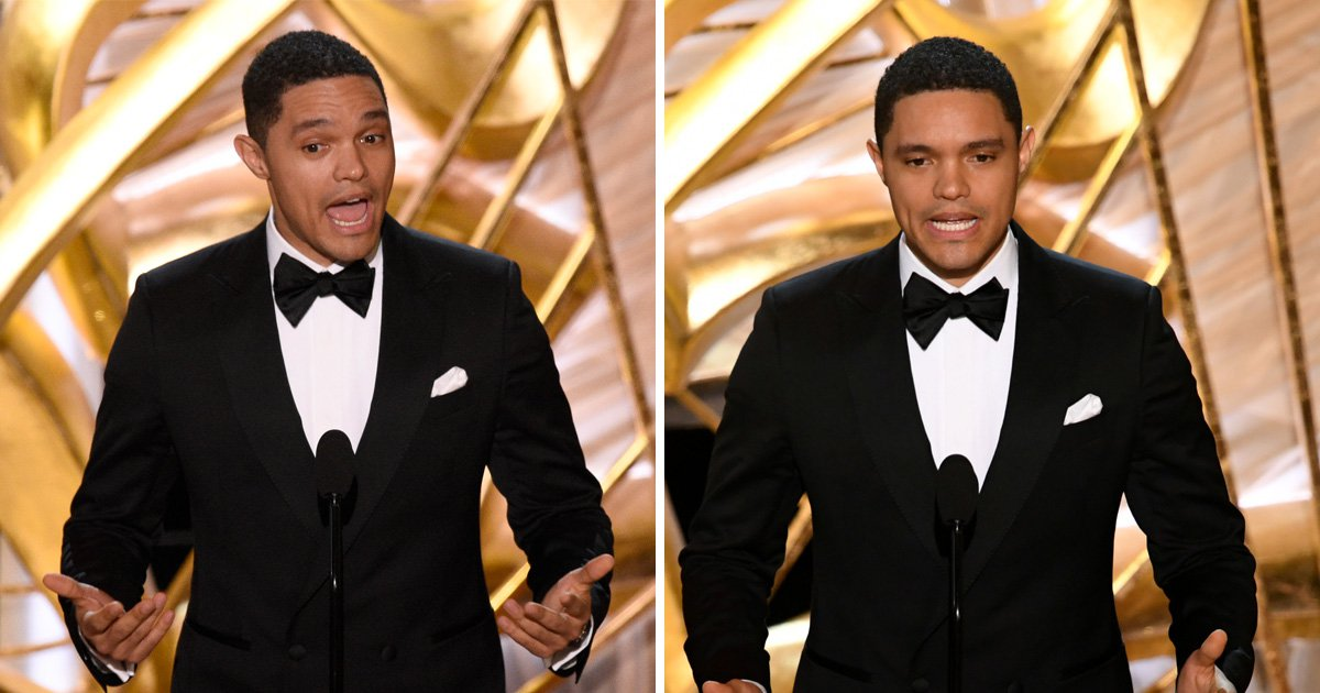Trevor Noah told the best Black Panther joke at the Oscars and most viewers probably missed it