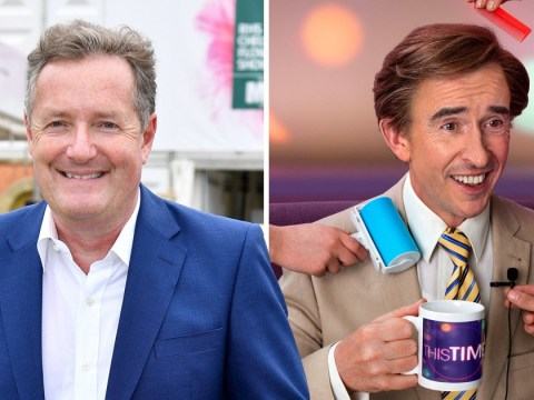 Piers Morgan fumes Steve Coogan has 'disappeared up his bum' over new Alan Partridge show