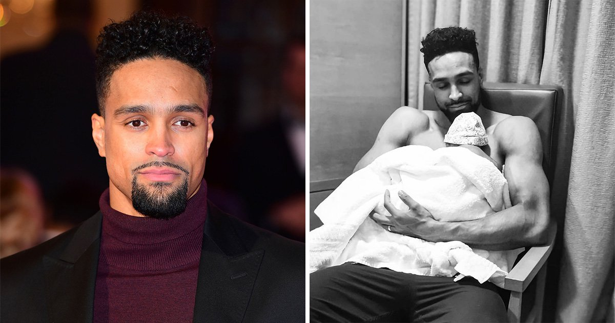 Ashley Banjo is pulling at our heartstrings with this new photo of his daughter Rose