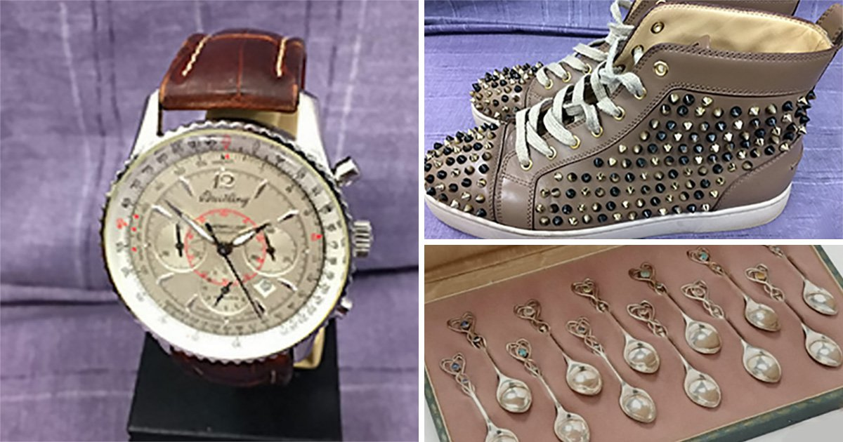 Police rake in £1,700,000 after selling seized items on eBay