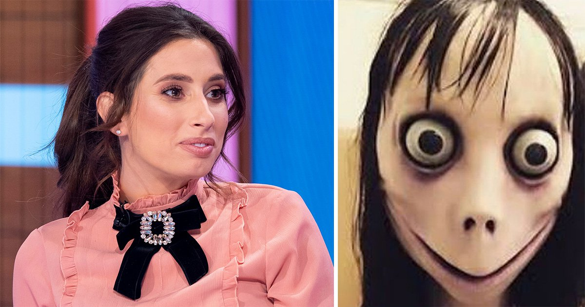 Stacey Solomon terrified of Momo Challenge for her sons' safety after police warning over 'suicide game'