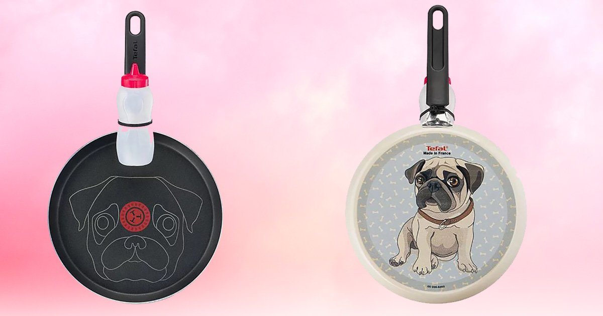 Love dogs? Then you can make pug pancakes this Pancake Day thanks to Asda