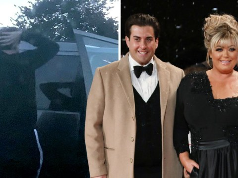 James Argent holds his head in his hands after Gemma Collins dumped him over cruel weight jibes