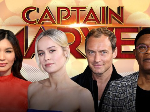 Brie Larson looks super as Captain Marvel stars shine at London premiere