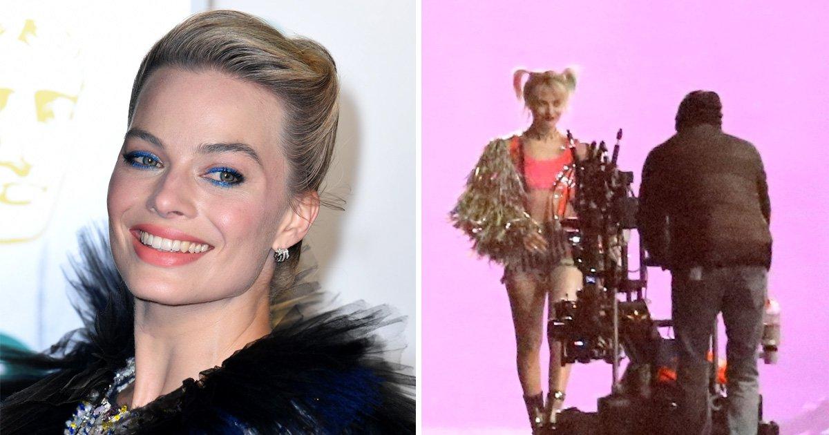Margot Robbie films 'explosive night scenes' as Harley Quinn for new Birds Of Prey movie