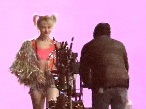 Margot Robbie films 'explosive night scenes' as Harley Quinn for new Birds Of Prey movie