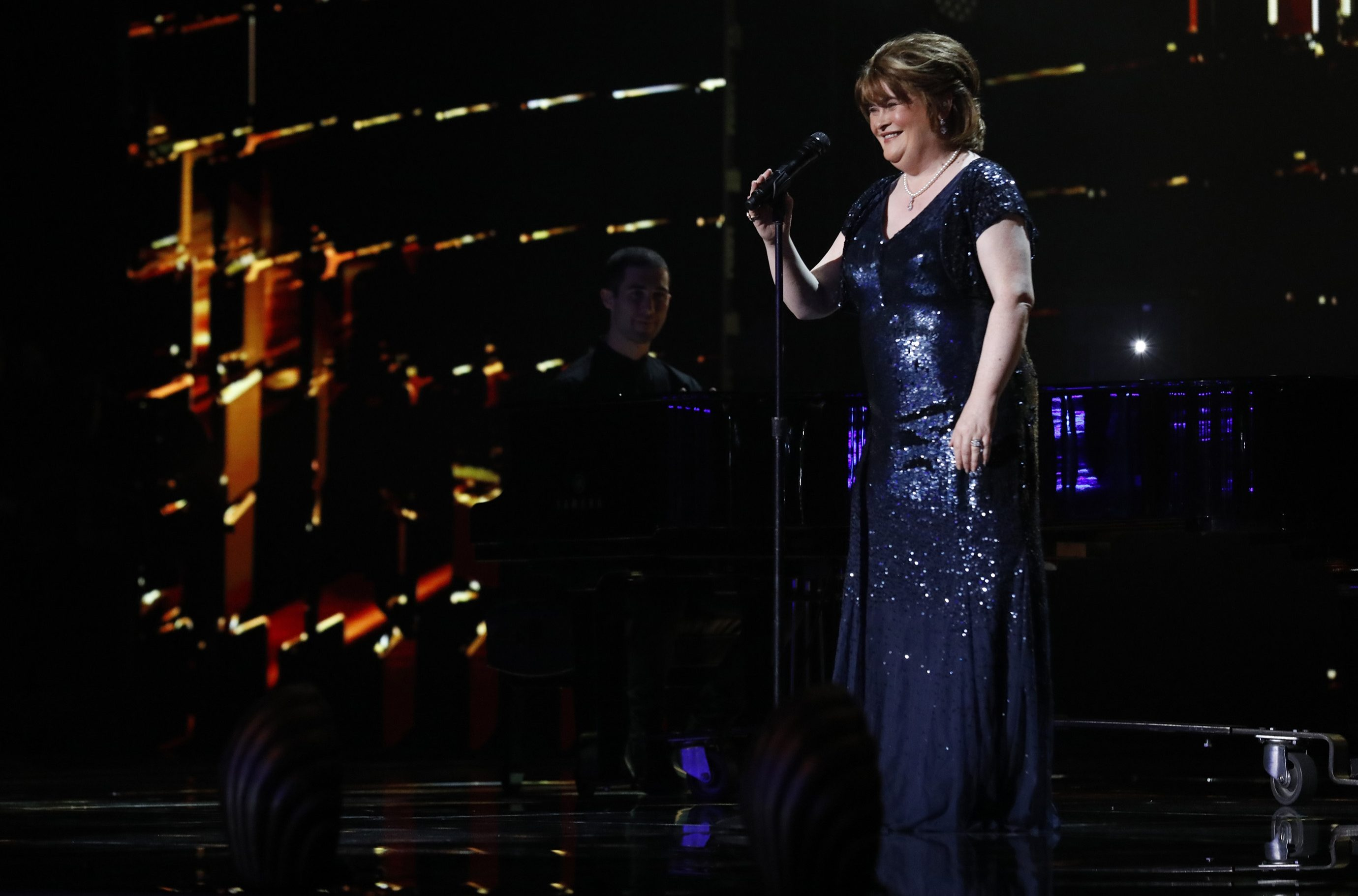 Why can't you vote for Susan Boyle on America's Got Talent: The Champions?