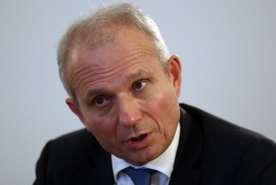 Chancellor of the Duchy of Lancaster David Lidington speaking to the media after Brexit business talks with Scottish businesses about the Brexit agreement at the Office of the Secretary of State for Scotland in Edinburgh. PRESS ASSOCIATION Photo. Picture date: Friday November 16, 2018. See PA story POLITICS Brexit. Photo credit should read: Andrew Milligan/PA Wire