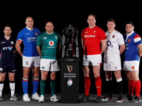 What time is the Six Nations Championship Match between England and Ireland and where can you watch it?